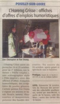 LE REGIONAL DE COSNE 14 oct 2015